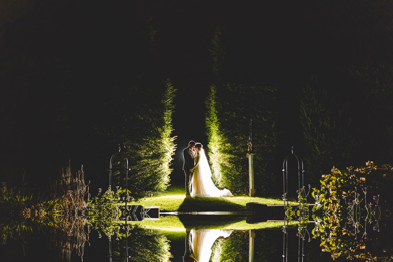 Miskin Manor Wedding Photography - Art by Design Photography - Flash portrait
