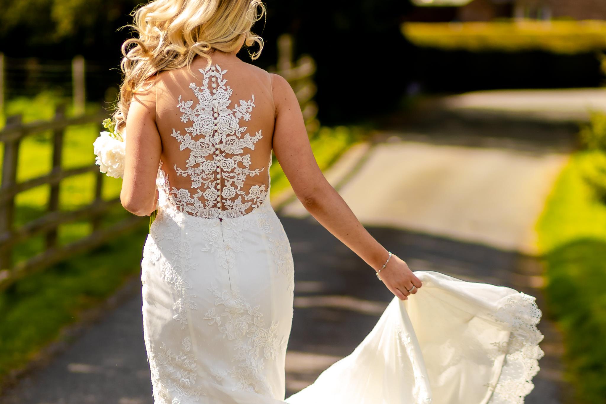 Bride - Peterstone Court wedding