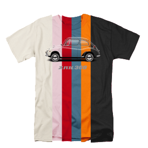 Subaru 360 Tshirt Preview