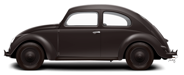 1947 VW Type 11 Sedan - Black