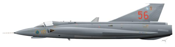 Saab J35J Draken - 35556