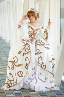 Big princess dress. Tsubasa Chronicles.