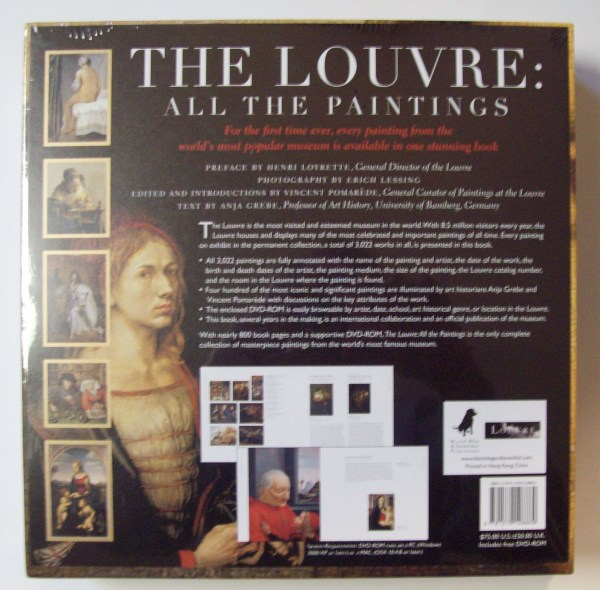 Louvre Paintings Book