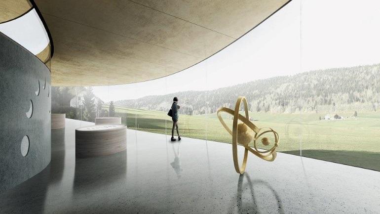 Image: Audemars Piguet Museum interior Design.