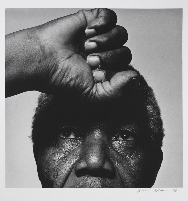 Image- Nelson Madela, former president of South Africa who died recently, was taken by  Hans Gedda, a professional photographer who made his living from commercial photography