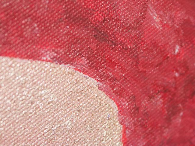 G-pont - Vászon, akril, 40 × 40 cm (részlet)
