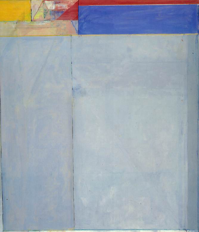 Richard Diebenkorn, 'Ocean Park No. 49', 1972 - taken from the Artchive