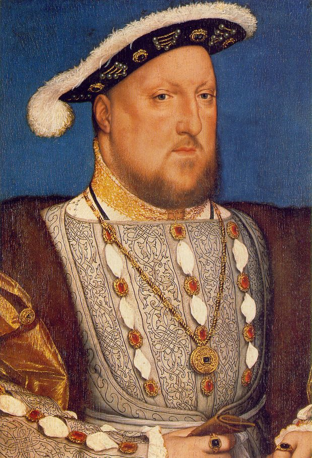 Henry VIII, Hans Holbein, c. 1536
