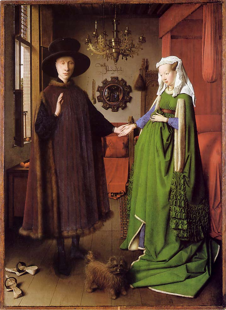 Image result for arnolfini betrothal