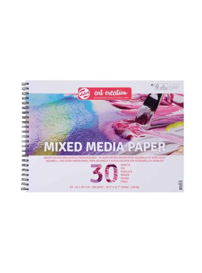 Mplok-A3-Mixed-Media-Paper-Talens-ArtCreation-Art&Colour
