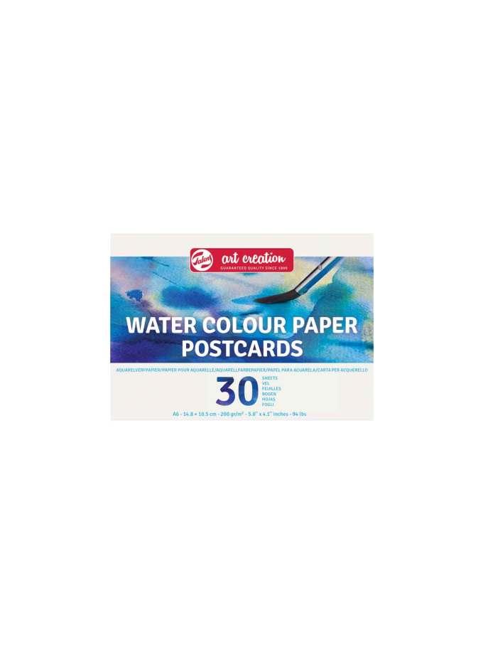 Mplok-Postcards-A6-Akourarela-Neroxromata-WaterColour-Paper-Talens-ArtCreation-Art&Colour