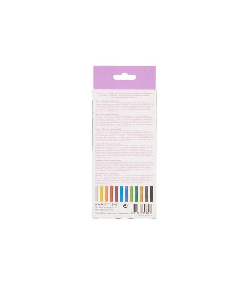 Set-12-Soft-Pastels-Art-Creation-Talens-Art&Colour
