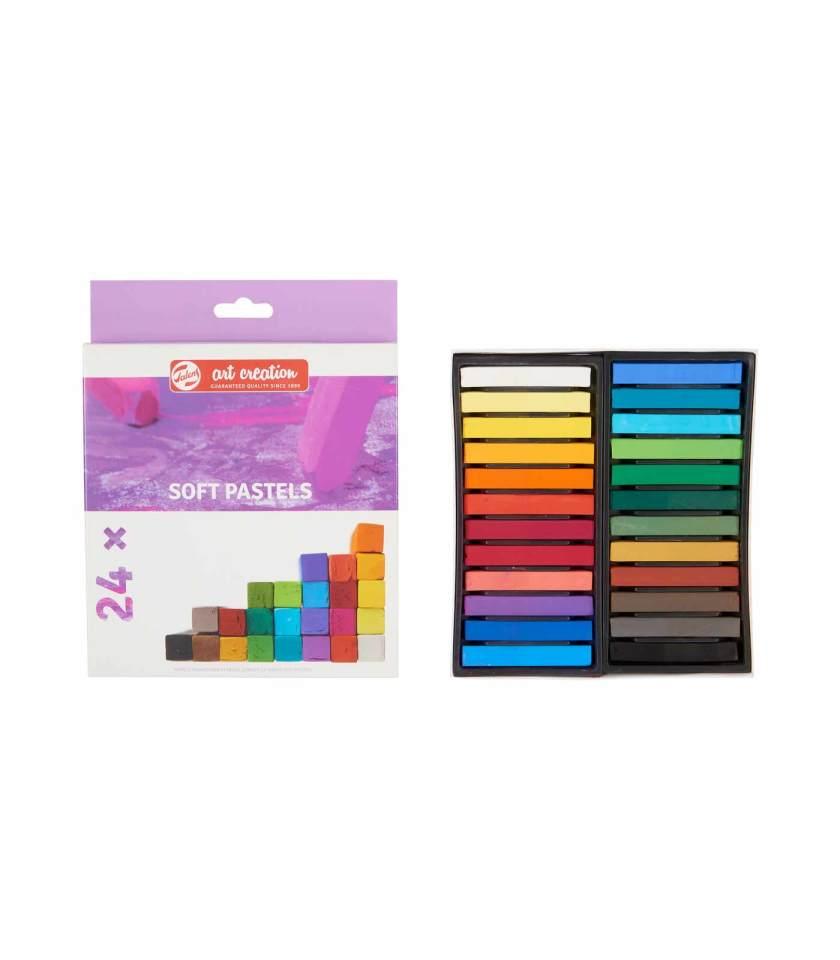 Set-24-Soft-Pastels-Art-Creation-Talens-Art&Colour