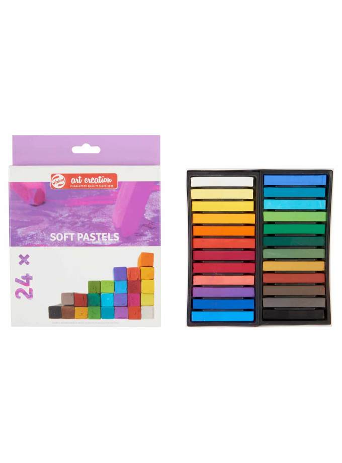 Set-24-Soft-Pastels-Art-Creation-Talens-Art&Colour