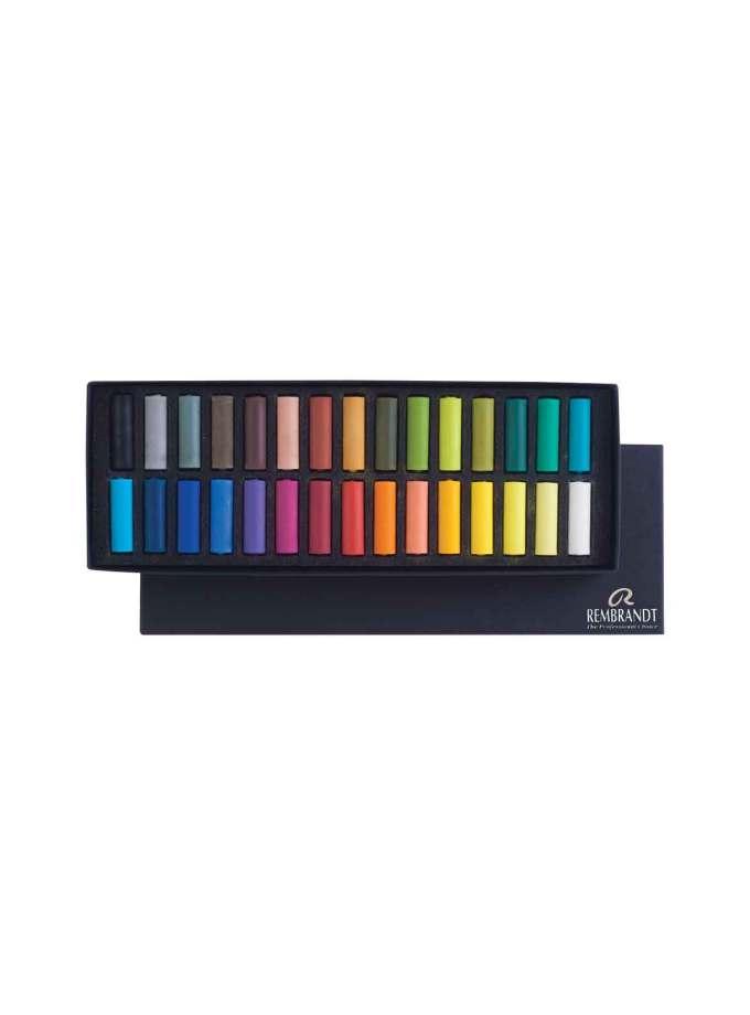 set-30-half-soft-pastel-Rembrandt-Art&colour