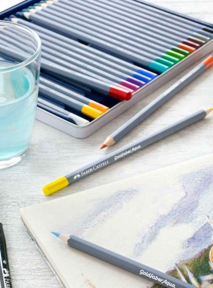 set-molivia-akouarelas-goldfaber-aqua-FaberCastell-Art&Colour