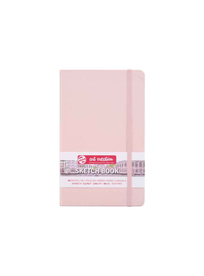 sketchbook-A5-Pastel-Pink-ArtCreation-Talens-Art&Colour