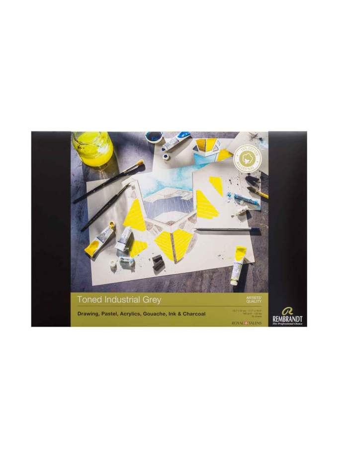 Rembrandt-Talens-Mplok-Toned-industrial-Grey-50-Sheets-29,7X42cm-180gr-Art&Colour