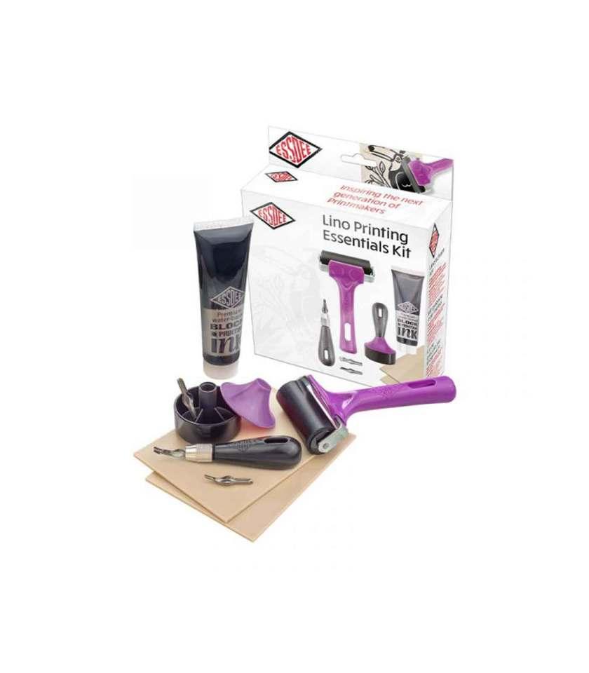 set-xaraktikis-lino-printing-essentials-kit-essdee-Art&Colour