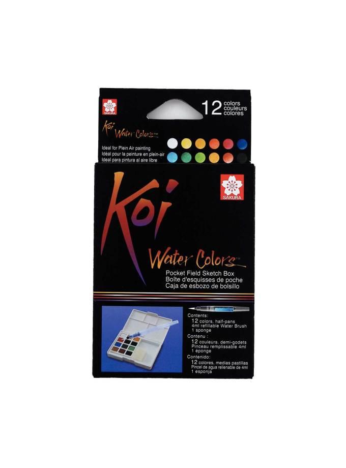 Sakura-Koi-watercolours-SketchBox-12colours-Art&Colour-3