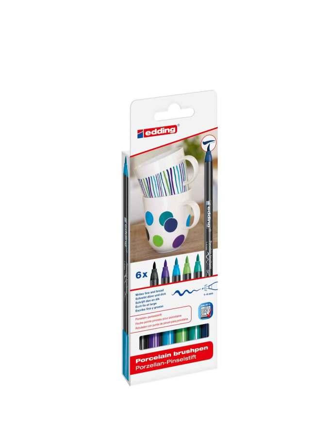set-6-markadoroi-porselanis-cold-Edding-Art&Colour