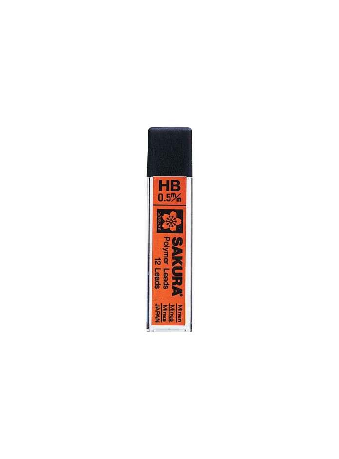 mutes-mixanikou-moluviou-HB-0,5mm-Sakura-Polymer-LEads-Art&Colour