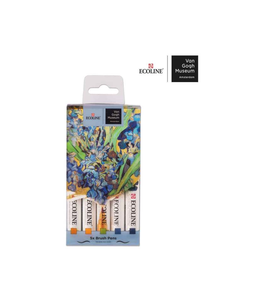 Set-5-Ecoline-Brush-Pen-Van-Gogh-Museum-Talens-Art&Colour-1