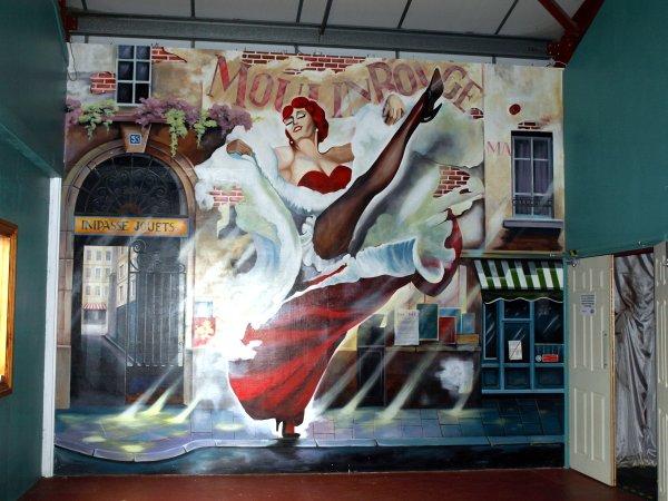 Theatre Foyer Mural