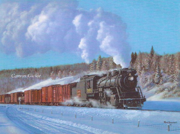 Art Country Canada MAX JACQUIARD A Winter Freightlimited