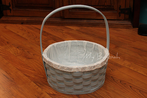 No Sew Easter Basket