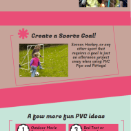 Fun Crafts with PVC Pipe