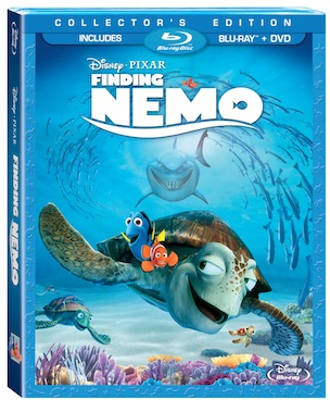 Finding nemo blu ray