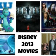 Disney 2013 Movie Lineup