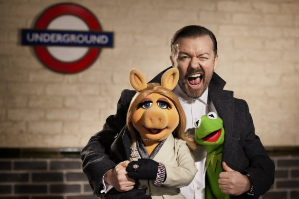 the muppets ricky gervais