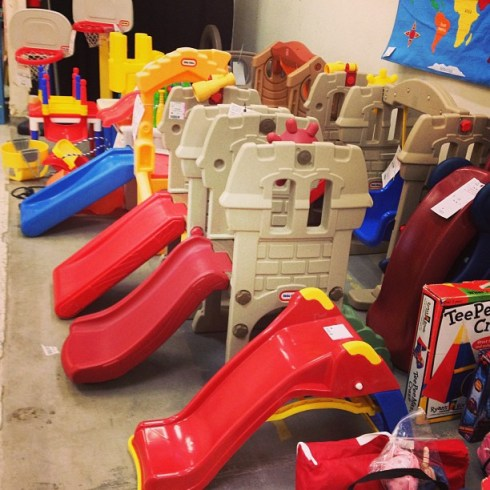 Children's consignment sale shopping tips