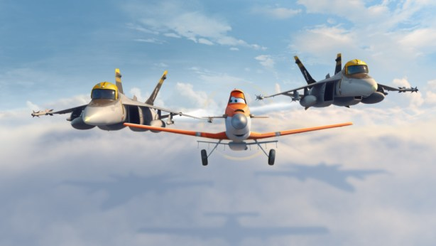 Dusty, Bravo, and Echo from Disney Planes #DisneyPlanesEvent