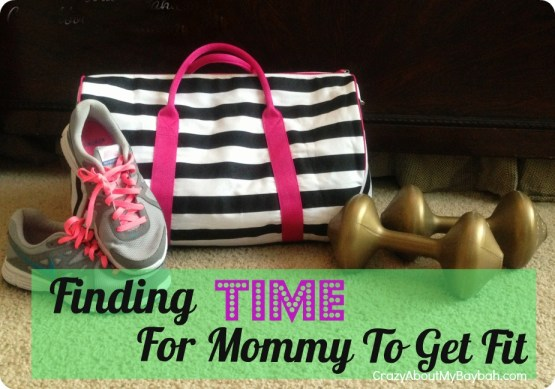 Finding Time For Busy Moms to Get Fit