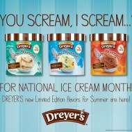 Celebrate National Ice Cream Month With Dreyer's #ReasontoSmile