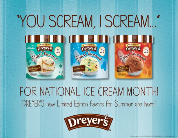 Celebrate National Ice Cream Day with Dryer's