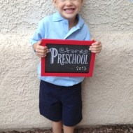 First Day of School | Wordless Wednesday Linky