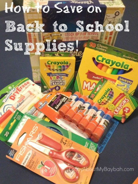How to Save on Back to School Supplies #BTS
