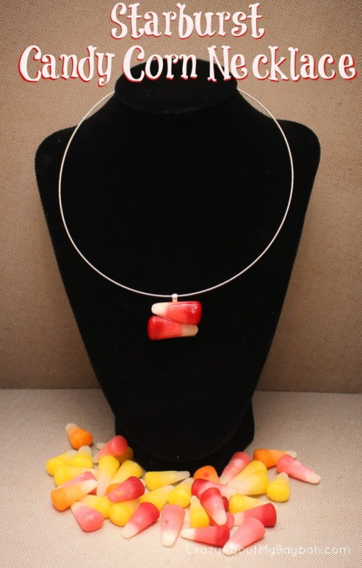 Halloween Crafts: Starburst Candy Corn Jewelry Tutorial #StarburstCandyCorn