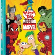 Phineas and Ferb Mission Marvel DVD