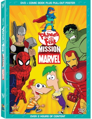Disney's Phineas and Ferb Mission Marvel