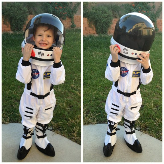 Astronaut Halloween Costume for Kids #ChasingFireflies