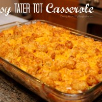 Cheesy Tater Tot Casserole | Easy Week Night Dinner