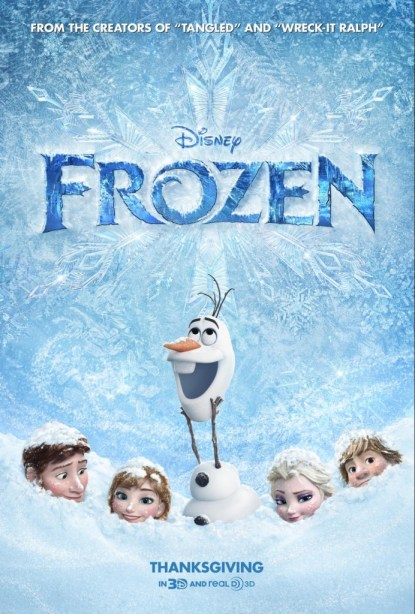 Disney Frozen Review #DisneyFrozen #MoviePoster