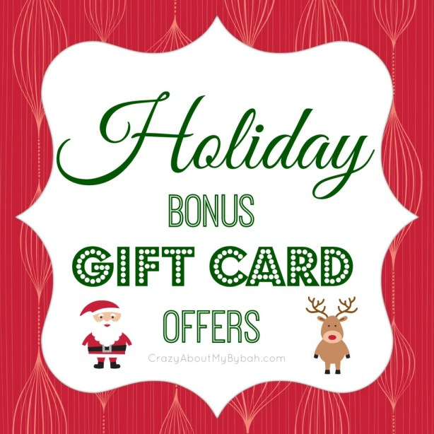 Christmas Bonus Gift Cards with Purchase