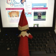 What is the Elf Up To Today   Wordless Wednesday