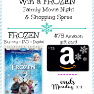 Disney Frozen Coloring Pages Plus Movie and $75 Amazon Giveaway